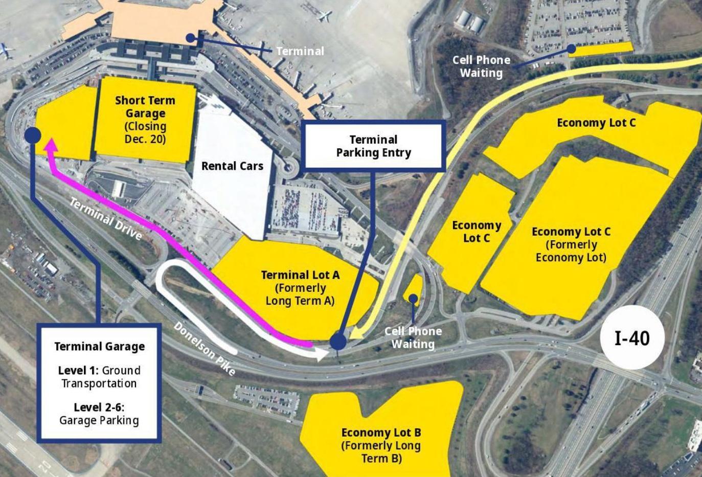 Rent A Car Nashville: Important Parking Updates